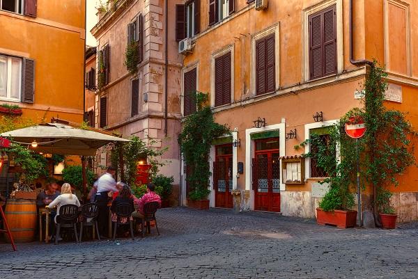 Rome-Trastevere-terras
