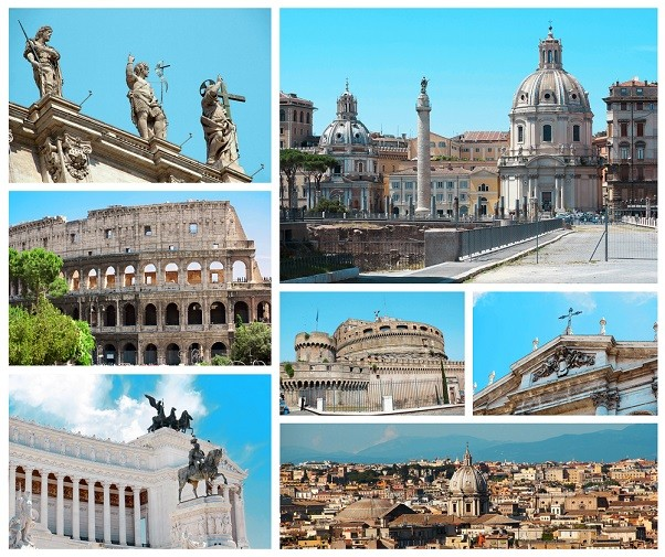 Rome-collage