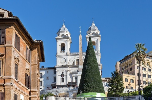 Rome-kerstboom-Spaanse-Trappen