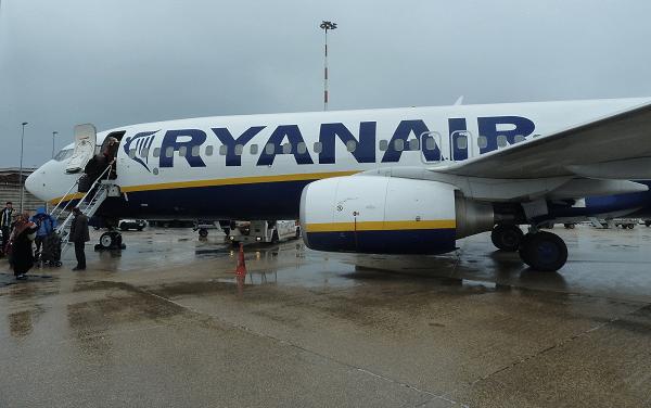 Ryanair-Italië