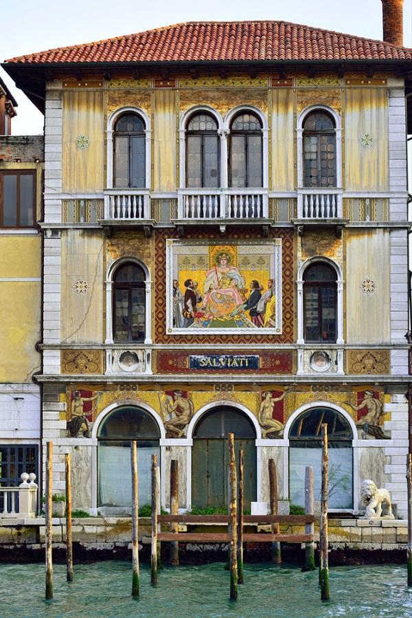 Salviati-mozaiek-Canal-Grande-Venetie