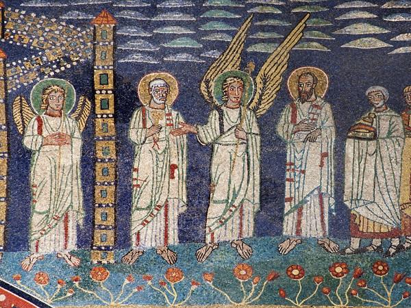 Santa-Prassede-Rome-mozaiek-detail