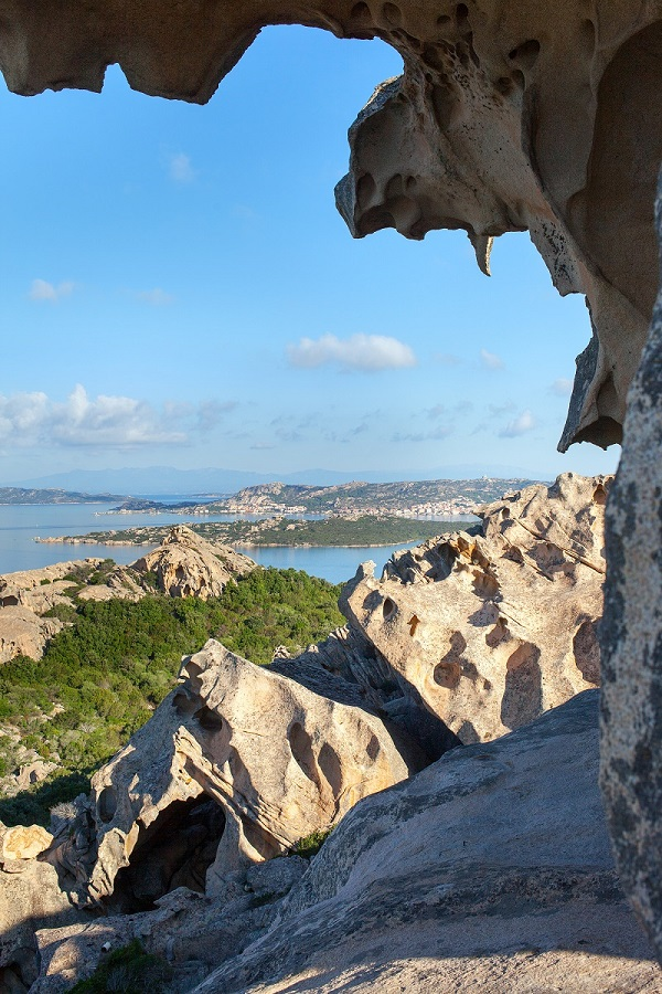 North Sardinia coast at cape Dorso, Italy.
