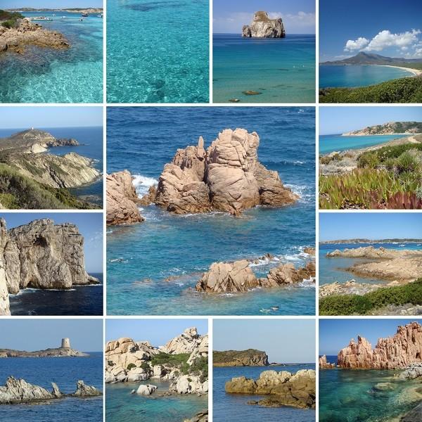 Sardinie-collage
