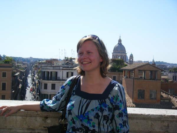 Saskia in Rome