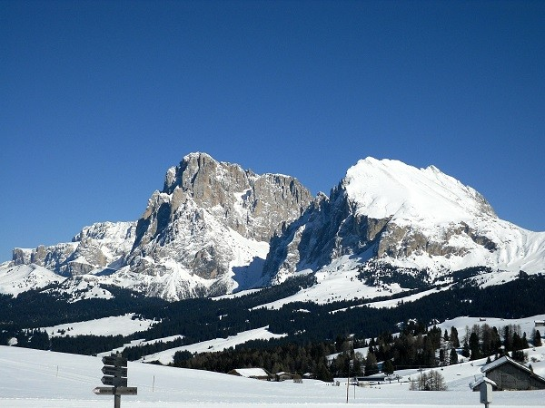 Sassolungo-Sassopiatto-Dolomieten-Zuid-Tirol