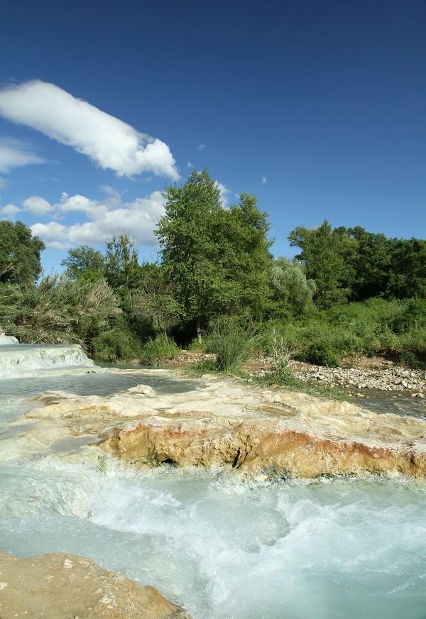 Saturnia-thermen-Toscane