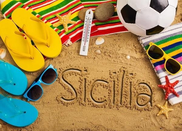 Sicilie-strand