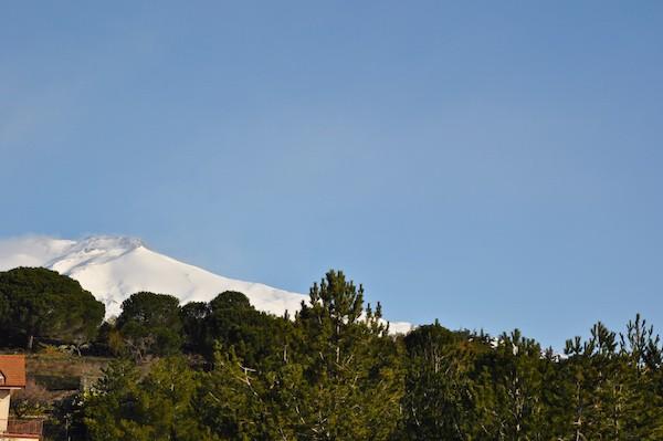 Sneeuw-Etna