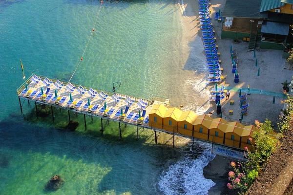 Sorrento-Amalfikust-Italië