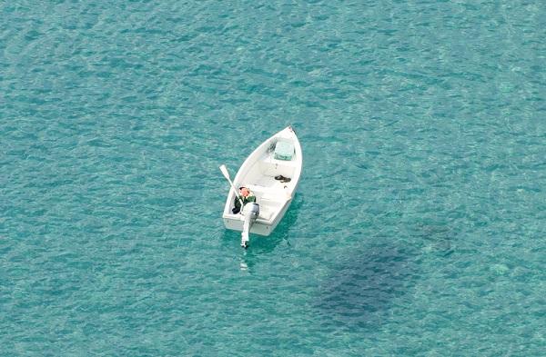 Soverato-Calabrië-zee