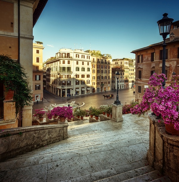 Spaanse-Trappen-Rome-bloemen