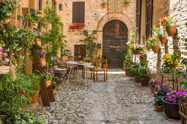 Spello het kleurrijkste stadje in umbri ciao tutti for O giardino di pulcinella roma