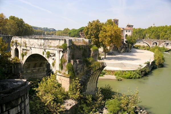 Tiber-eiland-Rome