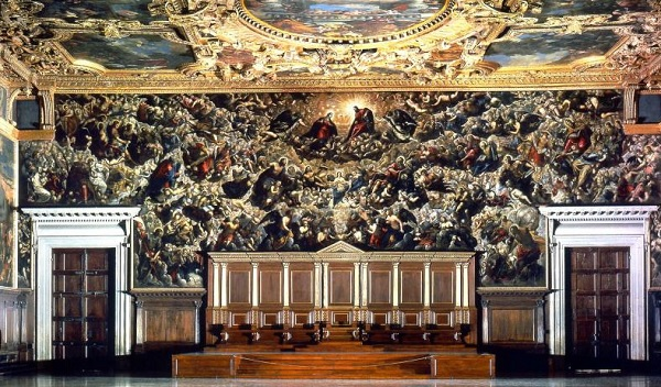 Tintoretto-Palazzo-Ducale-Dogepaleis-Venetië