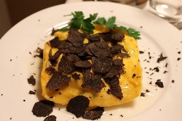 7 tortello with truffles