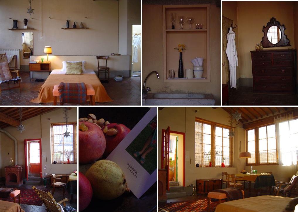 Le tre stanze drie kamers in florence ciao tutti ontdekkingsblog door itali - Kleedkamer voor mansard kamer ...