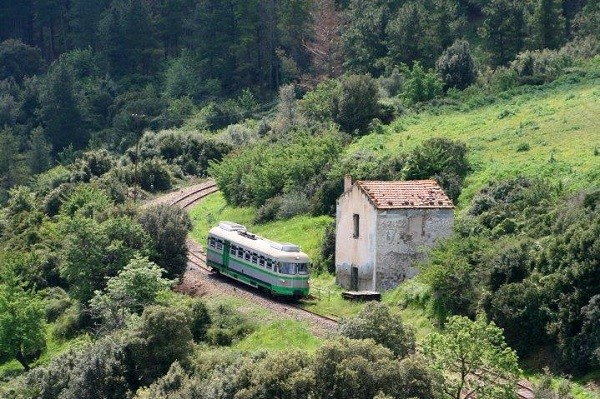 Trenino-Verde-Sardinië