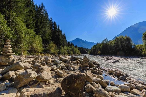 Trentino-watervallen-Riva-di-Tures