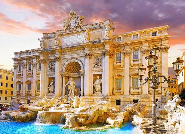 Trevi-fontein-Rome
