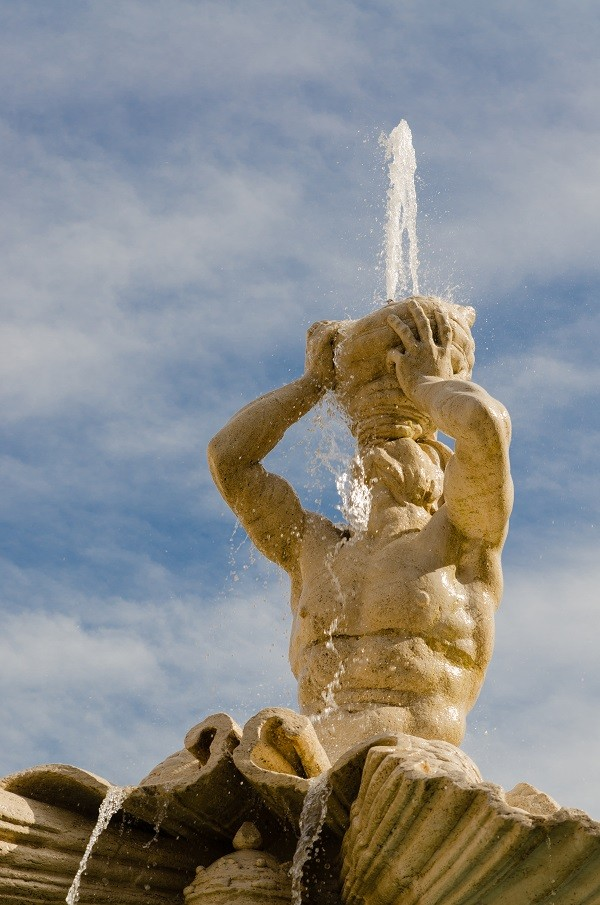 Triton Fountain, Gian Lorenzo Bernini, Barberini square, Rome