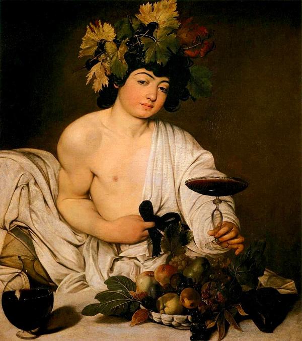 Uffizi-Bacchus-Caravaggio