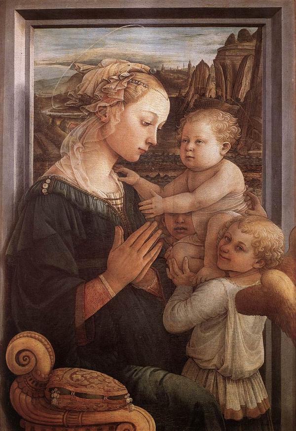 Uffizi-Madonna-Lippi