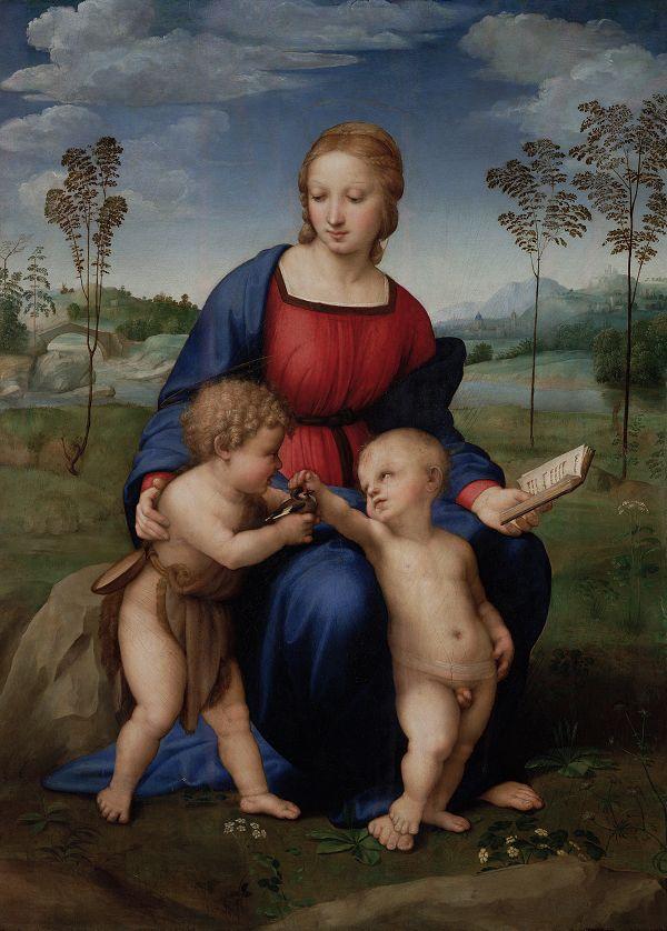 Uffizi-Madonna-distelvink-Rafael
