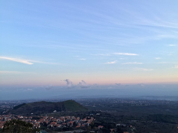 Uitzicht-Etna