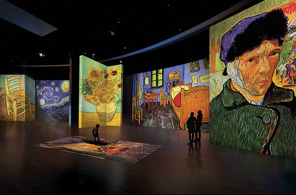 Van gogh alive in florence ciao tutti ontdekkingsblog for Ciao bambini van gogh
