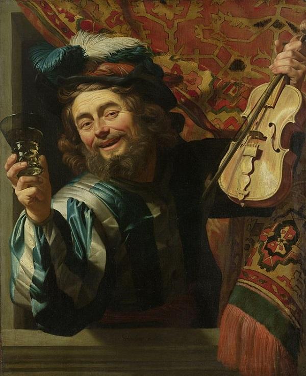 Van-Honthorst-De-vrolijke-speelman-Rijksmuseum-Amsterdam