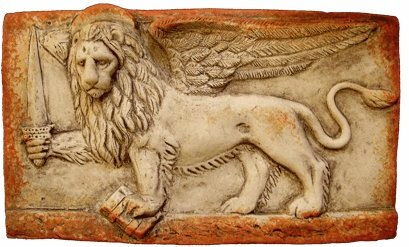 Venetie - leeuw met zwaard