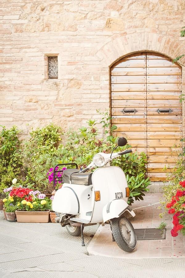 Vespa-Italië
