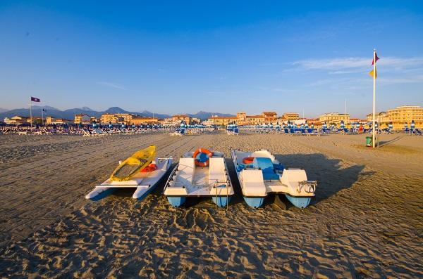 Viareggio-strand-Toscane