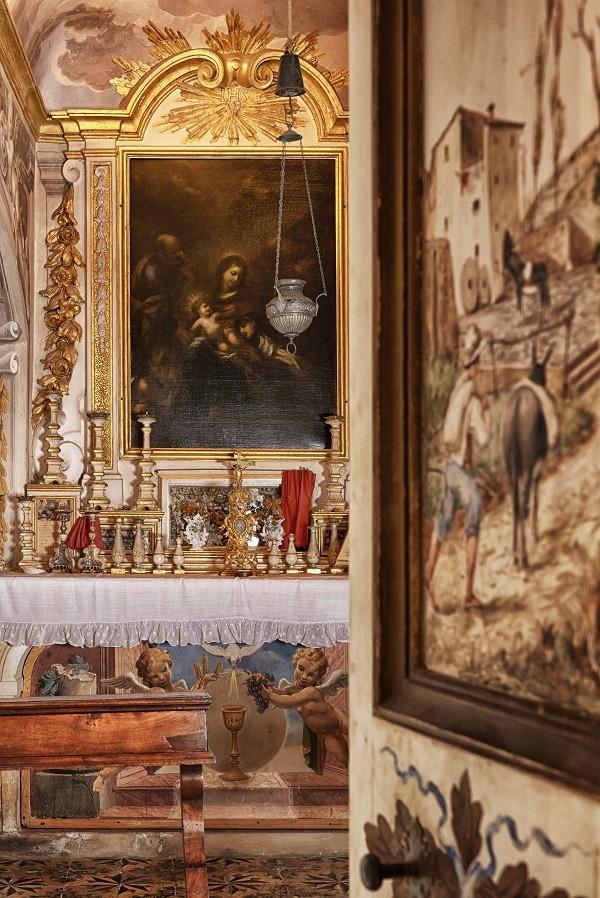 Villa-Medicea-di-Lilliano-Florence-Toscane-kapel