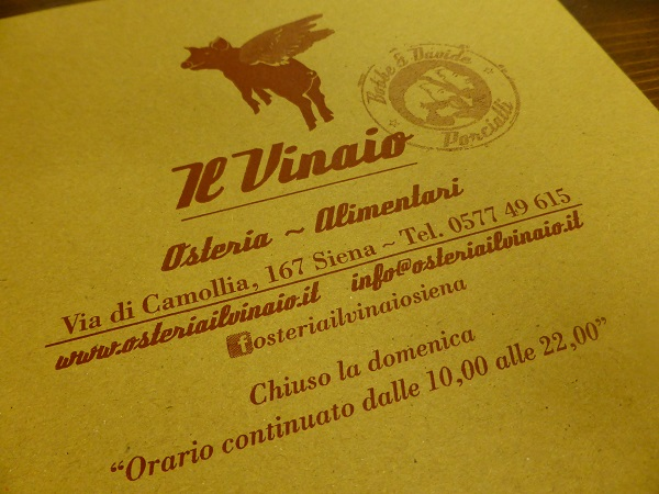 Vinaio-Siena