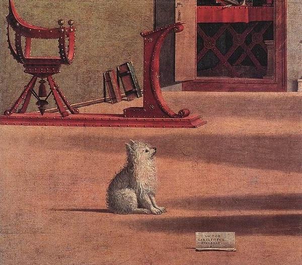 Vittore-Carpaccio-Hieronymus-Venetie-hondje-2