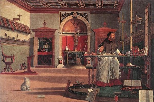 Vittore-Carpaccio-Hieronymus-Venetie-hondje