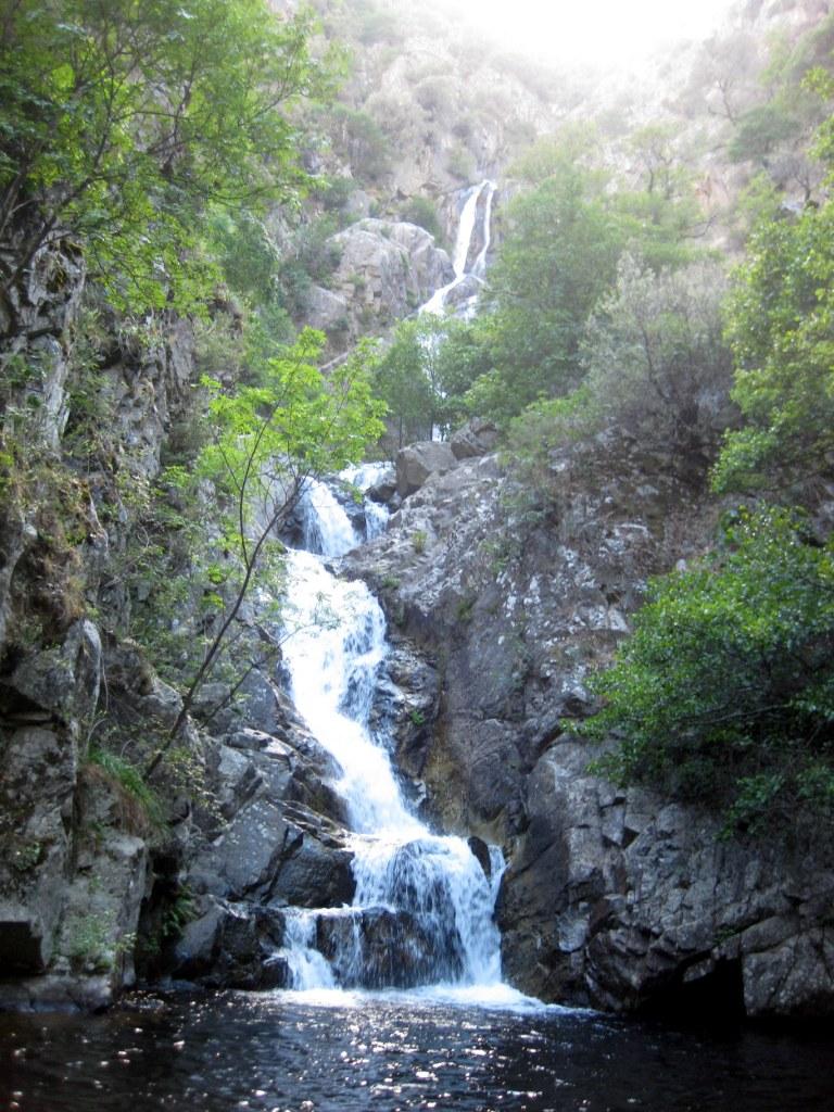 Waterval van Marmarico, Bivongi - Calabria