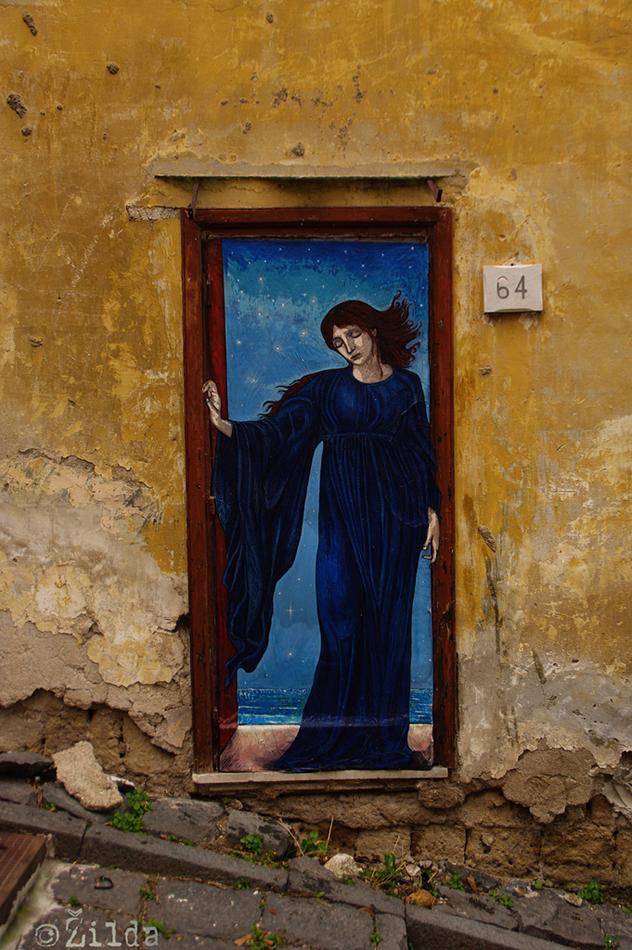 Zilda' notte.street art naples