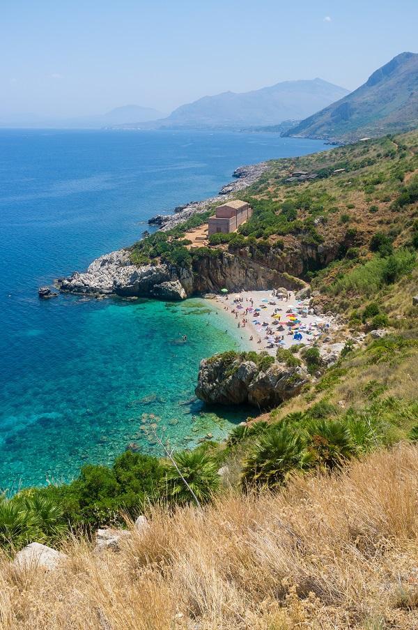 Zingaro-Sicilie-strand