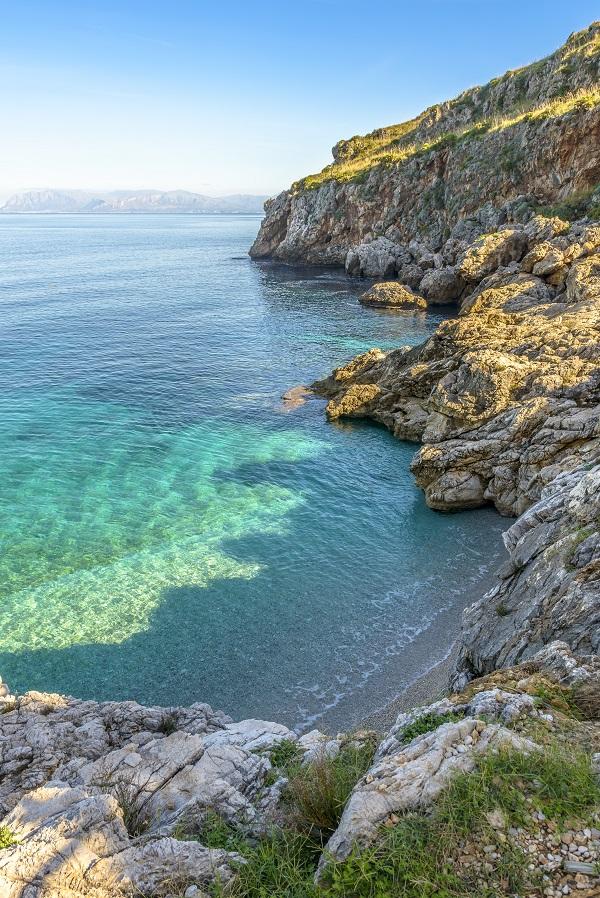 Zingaro Rocky Coastline, Sicily, Italy