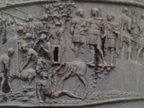 Zuil-Trajanus-Rome-ezel-detail