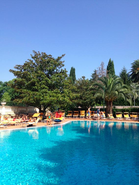 Zwembad-Gianicolo