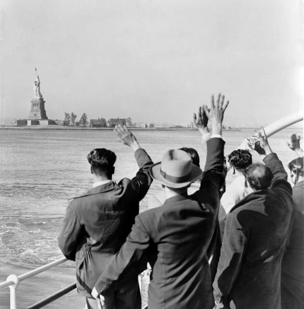aankomst-New-York-Vrijheidsbeeld