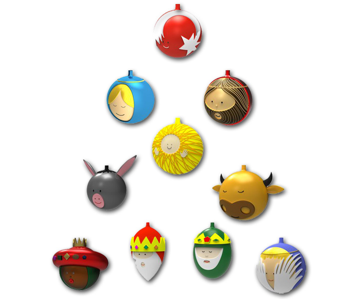 alessi palle natale