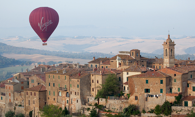 ballonvaart-Toscane