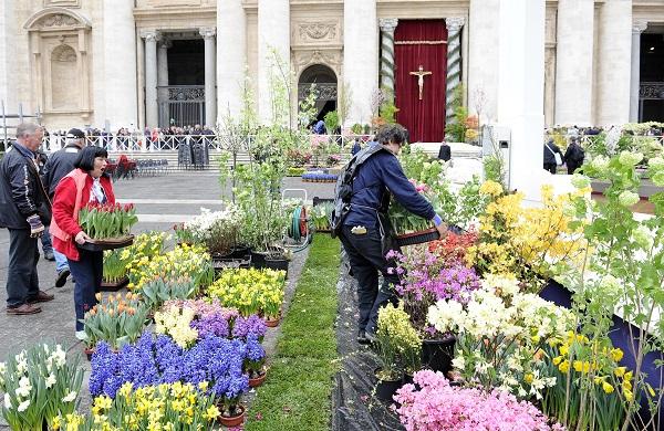 bloemen-Pasen-Sint-Pietersplein-Rome (8)