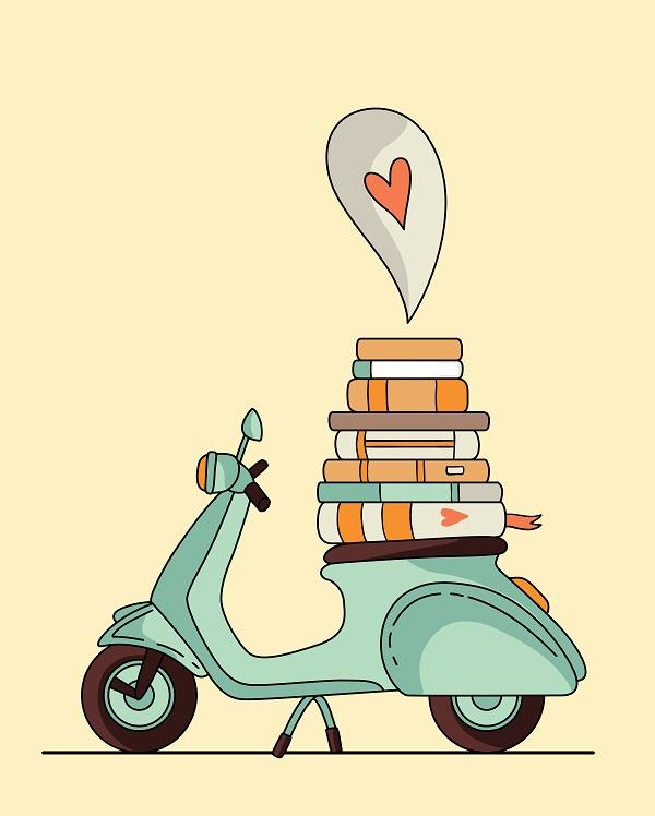 boeken-Italie-Vespa
