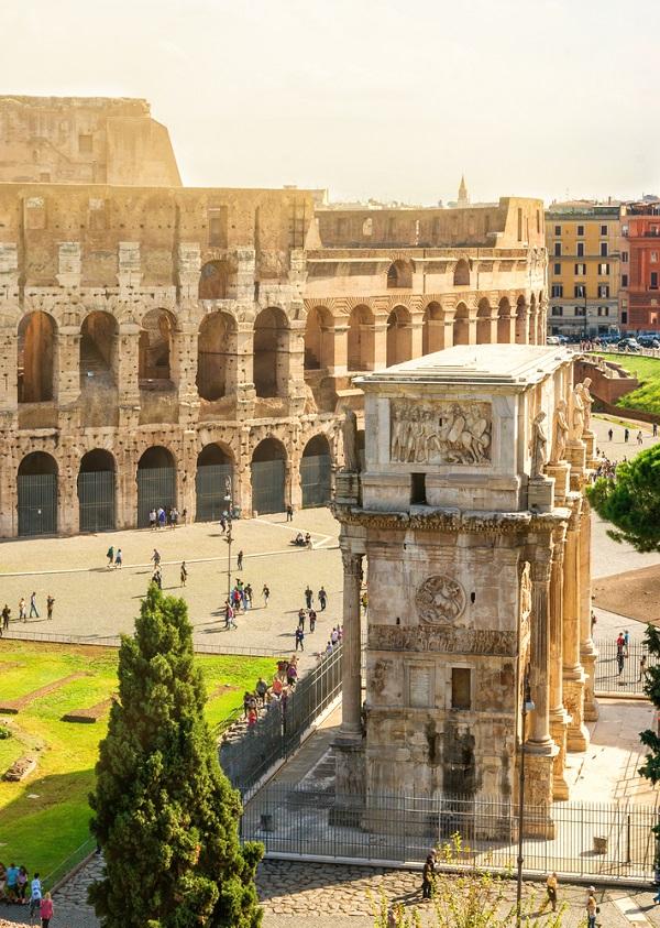 boog-Constantijn-Colosseum-Rome